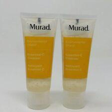 2x Murad Essential C Cleanser Environmental Shield 1.5 oz Each Sealed Fresh
