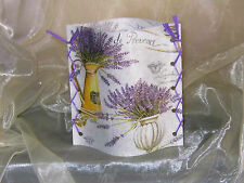 1 Deko Windlicht Lavendel Kanne mediterran  Tischlicht Mitbringsel