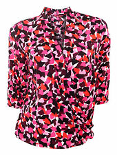 Polyester Formal Hips Geometric Tops & Shirts for Women