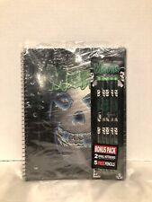 Misfits Bonus 2-Pack Notebooks & 5 Free Pencils NEW