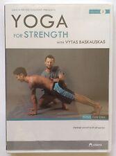 "Vytas Baskauskas ""YOGA For Strength"" DVD Udaya (2015) Brand New Sealed - Rare!"