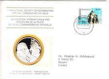 1976 Intl Society of Postmasters Netherlands Hero Michiel de Ruyter Silver Medal