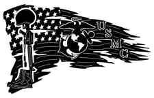 Usmc American Flag Dxf Of Plasma Laser Cut Cnc Vector Dxf Cdr Ai Art File