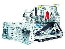 Mega Bulldozer Digger Eitech Metal Building Construction Toy Set C19