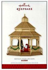 2013 Hallmark Nostalgic Houses and Shops Gazebo Limited Quantity Ornament!