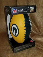 Youth-size Inflatable Football with Green Bay Packers logos
