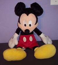"New listing Mickey Mouse Stuffed Plush Disneyland Disney World 17"" Lovey Toy Vguc"