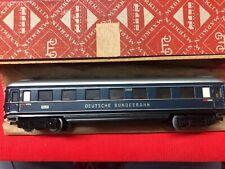 """Märklin H0 4014,346/6 Schürzenwagen 2.Kl.  BLAU """"Deutsche Bundesbahn"""" TOP/OKT"""