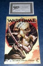 WARFRAME #1 signed SDCC variant exclusive MATT HAWKINS iMAGE TOP COW comic COA