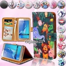 For Samsung Galaxy A 3/5/7/8/9  - Leather Wallet Card Stand Flip Case Cover