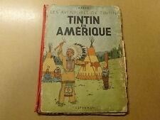ALBUM BD / TINTIN 2: EN AMERIQUE   1947