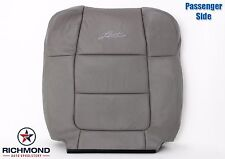 2002 Ford F150 Lariat Crew 4X4 2WD -Passenger LEAN BACK Leather Seat Cover Gray