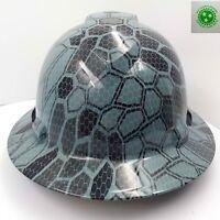 FULL BRIM Hard Hat custom hydro dipped , NEW URBAN ASSAULT CAMO HOT NEW