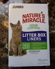 Nature's Miracle Odor Control Litter Box Liners Jumbo