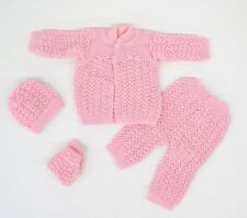 Hand Knitted Baby Unisex Outfits and Sets
