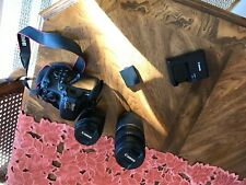 Canon EOS Rebel T5i Ultimate Bundle - Two lenses, battery, case, battery charger