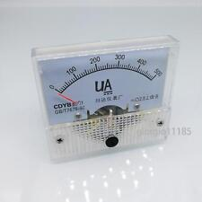 Us Stock Dc 0500ua Class 25 Accuracy Analog Amperemeter Panel Meter Gauge 85c1