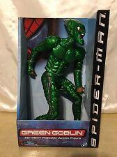 New - Green Goblin 12in. Poseable Action Figure - Spider-Man Movie - ToyBiz 2001