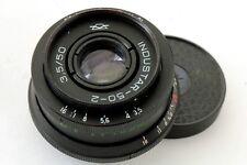 Industar 50-2  M42 USSR 3.5/50 Russian Lens for Zenit Canon Nikon