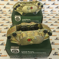 Land Rover Defender TD5 Pair Front Brake Calipers for Solid Discs - Bearmach