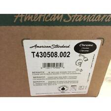 "AMERICAN STANDARD T430508.002 ""BERWICK"" CHROME PRESSURE BALANCE BATH AND SHOWER"