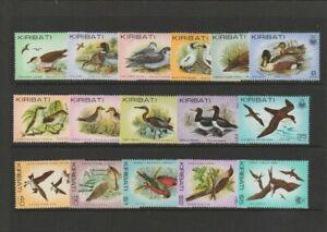 Kiribati. part set of stamps 1982 Birds, Mint-MNH