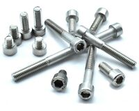 M6 (6mm) A4 STAINLESS STEEL SOCKET CAP SCREWS, ALLEN KEY BOLTS HEX HEAD MARINE *