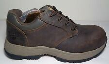 Dr. Martens Size 8 M LINNET SD Brown Steel Toe New Womens Safety Work Shoes