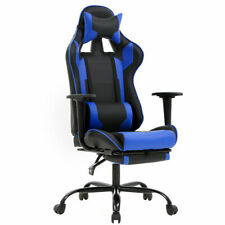 Blue Office Chair High Back Computer Racing Gaming Chair Ergonomic Chair RC1