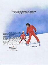 Publicité Advertising 016 1972 Mossant vêtements de ski
