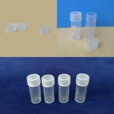 10Pcs  5ml  Empty Medicine HDPE Plastic Bottles Pill Tablet Capsule