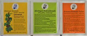 WEINHEFE 5g + HEFENÄHRSALZ 10g + SCHWEFELPULVER 10g - Arauner Kitzingen
