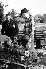 Salvador Dali and Walt Disney UNSIGNED photograph - L1963