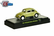 M2 Machines Auto Thentics 1967 VW Beetle Deluxe 1:64 size USA Model VW03 Olive g