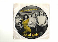 "LIQUID GOLD.WHERE DID WE GO WRONG / RIPPING UP LETTER.UK ORIG 7"" PICTURE DISC.EX"