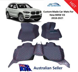 BMW X3 G03 2018-2021 Full Surrounded Premium Custom Made Car Floor Mats/Carpets