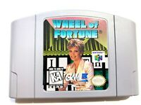 Wheel of Fortune NINTENDO 64 N64 Game Tested + Working & Authentic!