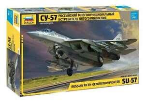 Zvezda 4824 Russian Fifth-Generation Fighter SU-57 1/48