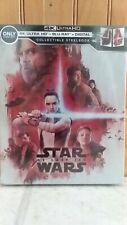 Star Wars The Last Jedi 4K Limited Edition Steelbook Best Buy Brand New Sealed