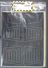 Cutting Edge Black Magic 1/48th Scale Canopy & Wheel Hub Masks D-Day Stripes