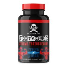 CHAOTIC LABZ TESTABOLIC TEST BOOSTER LIBIDO MALE ENHANCEMENT ANTI ESTROGEN PCT