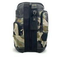 Tumi Higgins Sling Bag Crossbody Backpack Desert Camo with Black Leather Trim
