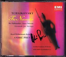PREVIN Signed TCHAIKOVSKY The Nutcracker Serenade 2CD Der Nussknacker BARBIROLLI