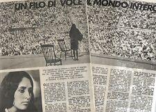 Q45 Clipping-Ritaglio 1974 Joan Baez