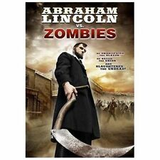 Abraham Lincoln Vs. Zombies (DVD, 2013) Horror preowned movies