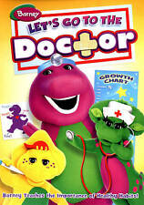 Barney: Lets Go to the Doctor (DVD, 2012)