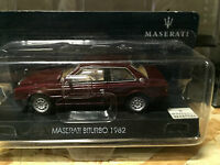 "DIE CAST "" MASERATI BITURBO - 1982  "" MASERATI COLLECTION SCALA 1/43"