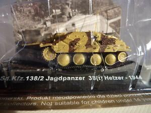 AMERCOM 1:72 Diecast model of WWII German Sd.Kfz.Jagdpanzer 38(t) Hetzer 1944