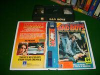BAD BOYS (1983) - RARE Australian Thorn EMI VHS Issue Cult Crime Drama Thriller!