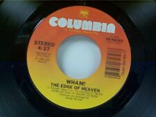 "WHAM ""THE EDGE OF HEAVEN / BLUE (LIVE IN CHINA)"" 45 MINT"